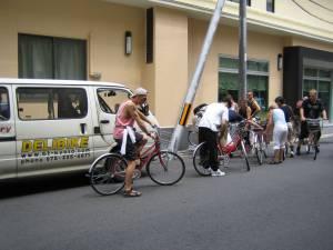 Fahrradtour in Kyoto