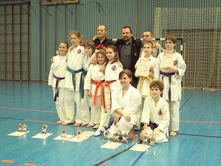 Unsere Preisträger des Ilvesheimer Kinder – Karate – Tages