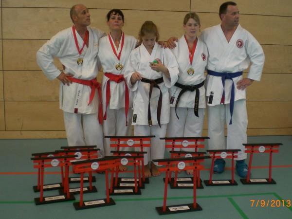 Unsere Titelträger bei der Deutschen Meisterschaft 2013 in Berlin