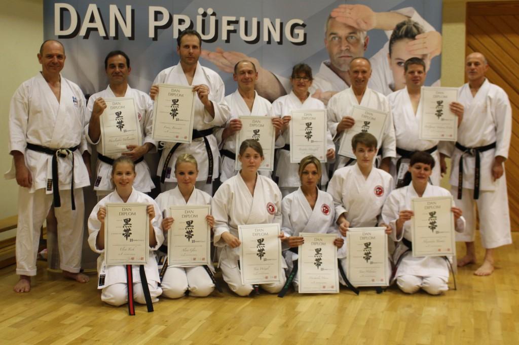 DAN-Prüflinge vom 10. September 2014