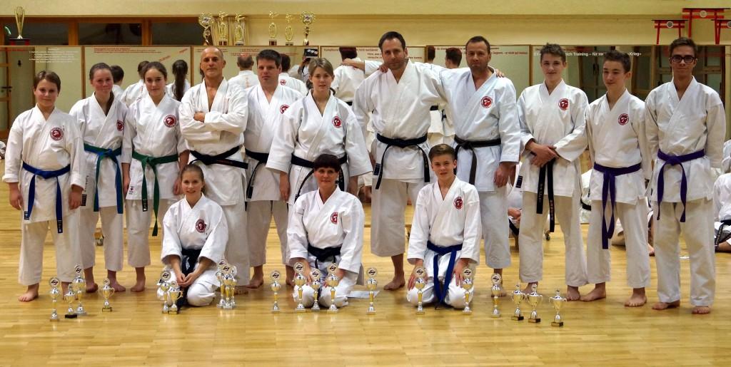 Deutsche Meisterschaften 2014 in Berlin - Die erfolgreichen Karateka