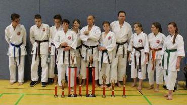 Die erfolgreichen Teilnehmer an der Internationalen Deutschen Meisterschaft 2014 in Simmern